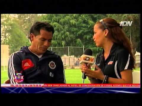 Entrevista de Chapis con Benjamín Galindo en Zona Chiva de TDN el 25 de Junio de 2013