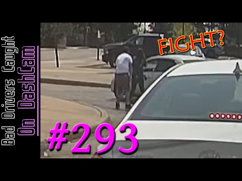 Bad Drivers Dashcam Compilation #293 - Road Rage, Stupid People and Close Calls