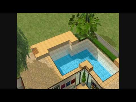 The Sims 2 - Building a House 12 - The Spiked Cannon - Part 2 - Architecture/ Interior