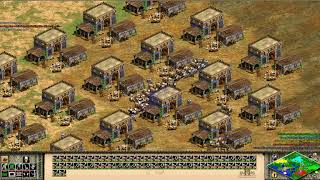 Age Of Empires Beating 4 Computers On A Team Against Me The Hardest Skill -part 1