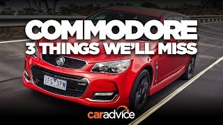The V8 wagon: 3 things we'll miss about the Holden Commodore