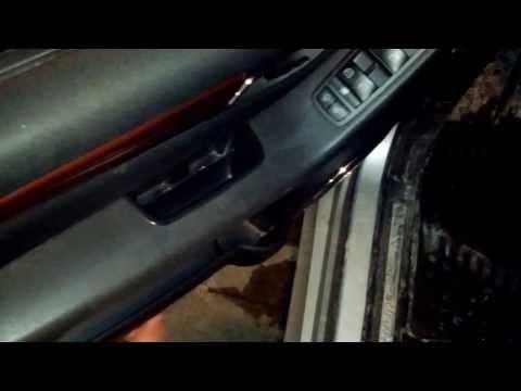 Mercedes B-Class W245 Door panel and Power Window door lock mirror Switch install