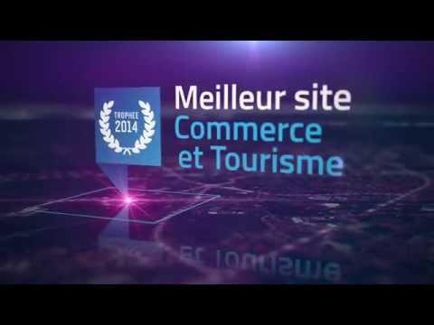 Trophées 2014 - Meilleur Site Internet - Catégorie Commerce / Tourisme