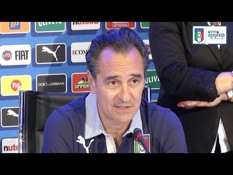 """Prandelli: """"Cassano? Bravo a rimettersi in gioco"""" - 20 Maggio 2014"""
