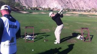 Oliver Hudson Golf Swing