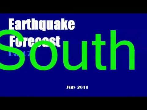 Earthquake Forecast July 2011.wmv