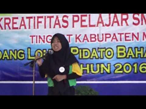 Juara 1 Lomba Pidato Tingkat Provinsi