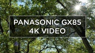 4K RECORDING ON THE PANASONIC GX85