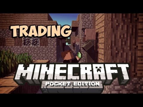 0.9.4 TRADING VILLAGERS MOD Minecraft Pocket Edition