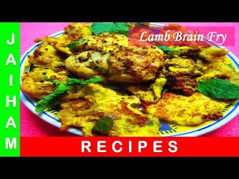 Goat Brain Fry | Mutton Bheja Burji | JAIHAM RECIPES