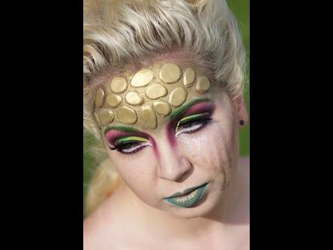 medusa inspired halloween makeup  youtube