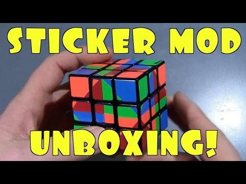 Sticker Mod Unboxing + A Modding Tip