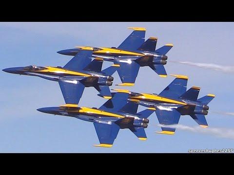 2015 U.s.n. Blue Angels video