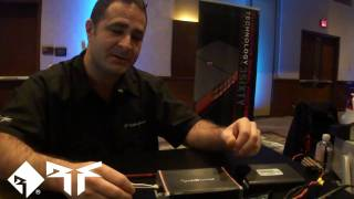 Rockford Fosgate Boosted Rail Technology Explained - CES 2011