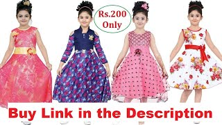 Puja Festival Baby Dresses For Kids Girls 2018  - kids dress designs | kids frocks with Price