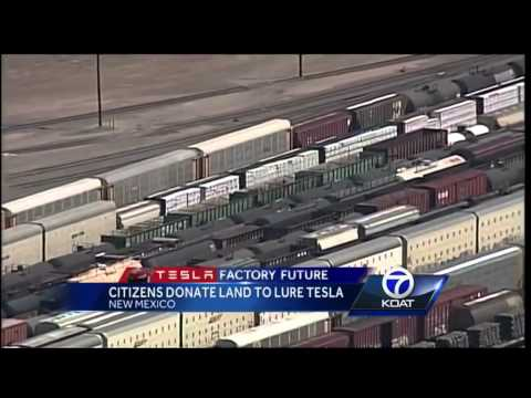 Citizens donate land to lure Tesla to NM