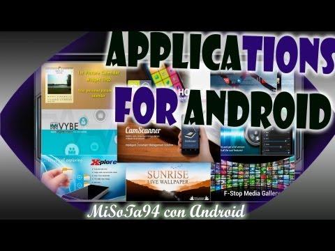 Las Mejores Aplicaciones para Android + Cam Scanner /Mi94/
