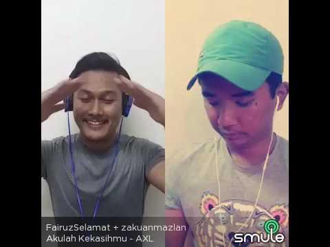 Download smule:akulah kekasihmu cover by zakuan mazlan ft fairuz selamat Mp4 baru