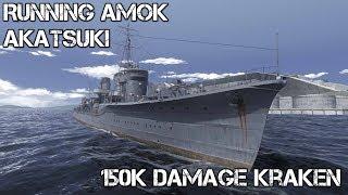 World of Warships - Running Amok - Akatsuki