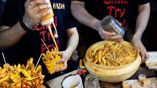 Famous French Fries | Mc Donald and OPTP Style Chips | Aloo Ships at Street Food of Karachi Pakistan