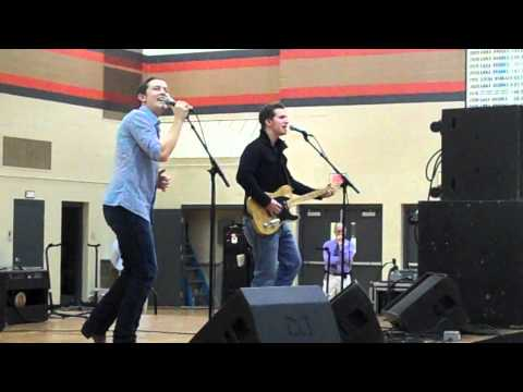 "Scotty McCreery - ""I Love You This Big"" at Burlington (WI) High School"