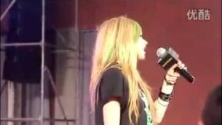 Avril Lavigne - I Love You (Acappella) @Beijin - Avril x Lotto Meeting