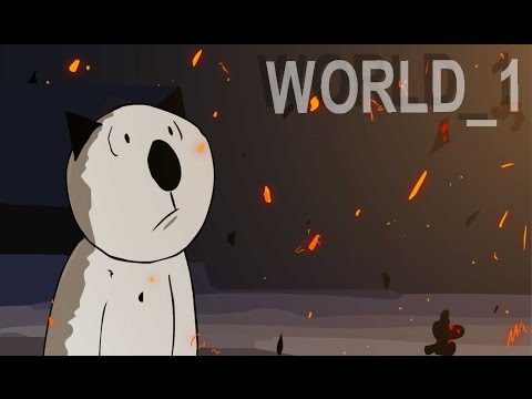 "Basya's adventures in minecraft (cartoon) ""WORLD 1"""