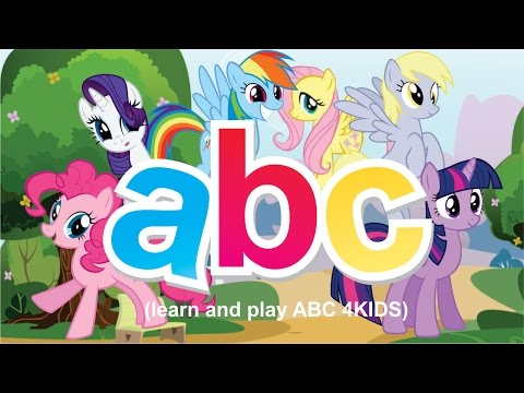 My little Pony friendship is magic | ABC song cartoons for kids ABC 4KIDS