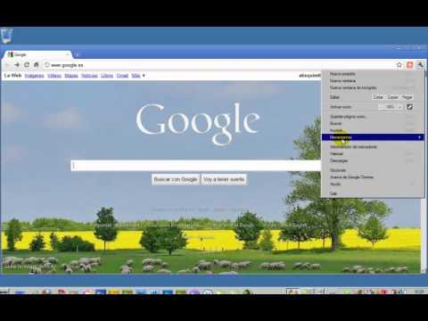 Chrome - Eliminar historial de navegación