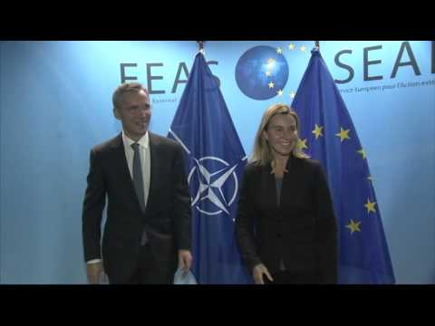 HRVP Federica MOGHERINI, meets with Jens STOLTENBERG, NATO Secretary General