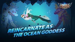 Reincarnate as the Ocean Goddess  New Hero   Kadita Trailer   Mobile Legends: Bang Bang!