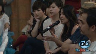 Các ca sĩ họp báo về hội Hoa Thiện Tâm và ca sĩ Hồ Lệ Thu (p2)