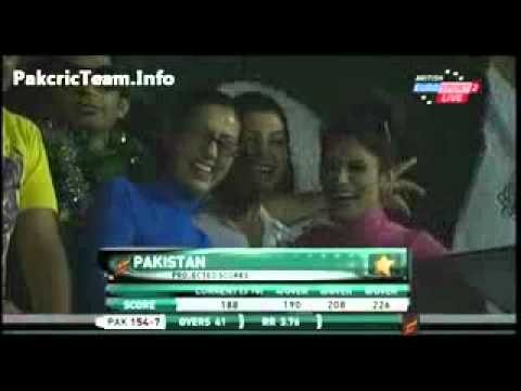 Shahid Afridi 50 Against Srilanka Under Pressure 2011 Sharjah And Nice Bowling Got 5 Wickets video