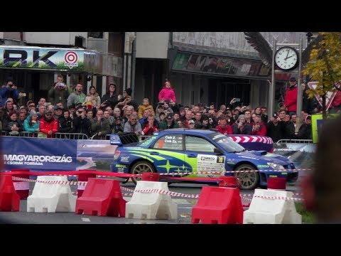 Csík Zoltán-Csík Zsuzsanna, Csíkmotorsport, Rally Hungary 2019, II.Nyíregyháza Rally, FIA ERC