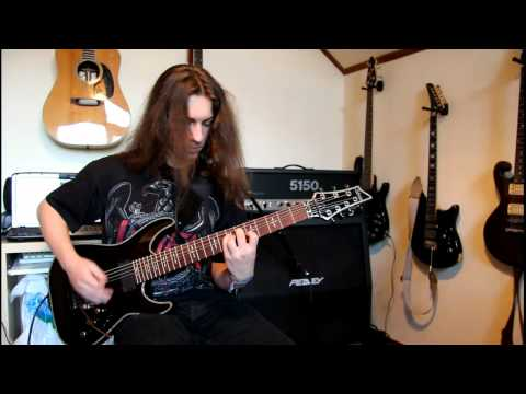 Schecter Hellraiser C-7 Fr Demo video