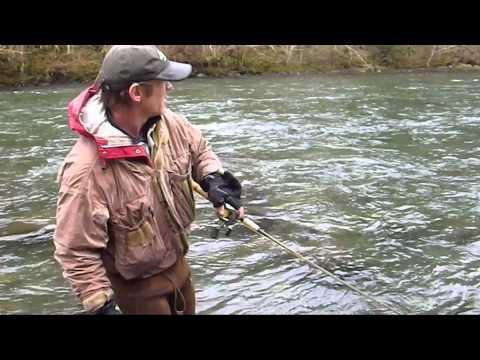 Winter Steelhead Drift Fishing; Upper Sandy pt.1
