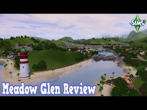 The Sims 3 - Meadow Glen Review (FREE World)