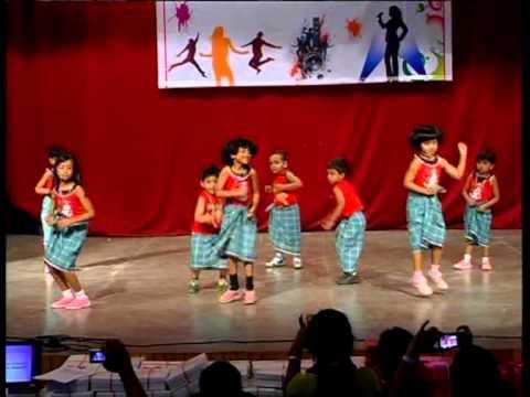 Koncab -kalanjali-2013, Tiny Tots Kids Lungi Dance By [bkcs, Koramangala-bangalore] video