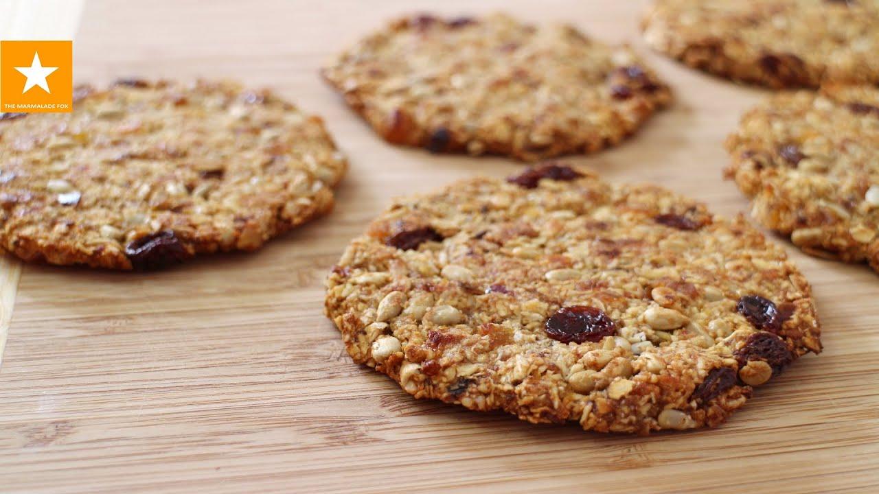 Как сделать печенье из овсянки без муки молока и пудры