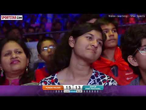 PKL 2018 Highlights- Match 24-Puneri Paltan v Jaipur Pink Panthers