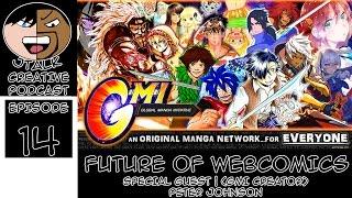 J Talk Podcast Feat Peter Johnson (GMI Manga) - Future Of Webcomics (Ep.14)