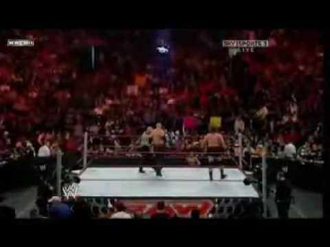 WWE Monday Night Raw: Triple Threat Match - Kane vs Mike Knox vs Rey Mysterio