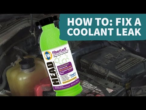 How to Use K&W FiberLock from CRC to Fix a Coolant Leak