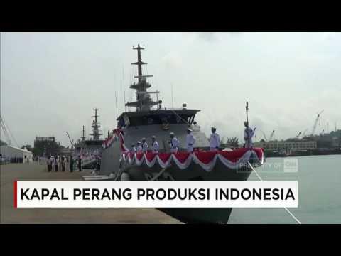 Lagi, 3 Kapal Perang Produksi Dalam Negeri Siap Beroperasi Menjaga Kedaulan RI #1