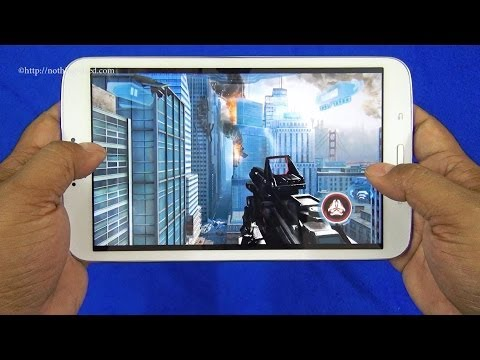 Samsung Galaxy Tab 3 8.0 8-inch Review: Gameplay