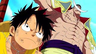 One Piece - Luffy Tells Whitebeard To Shut Up [English Dub] [HD]