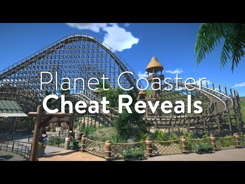 Planet Coaster Cheat Reveals - Unlocking Low Friction & No Friction on Roller Coasters