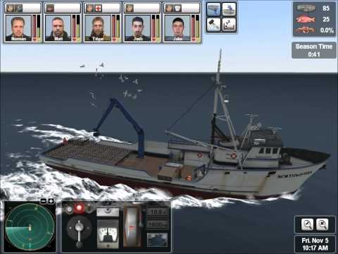 Deadliest Catch : Alaskan Storm Gameplay (PC)