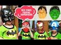 Rex Pakai Topeng Superhero 😂 Keren dan Lucu | Super Hero Mask