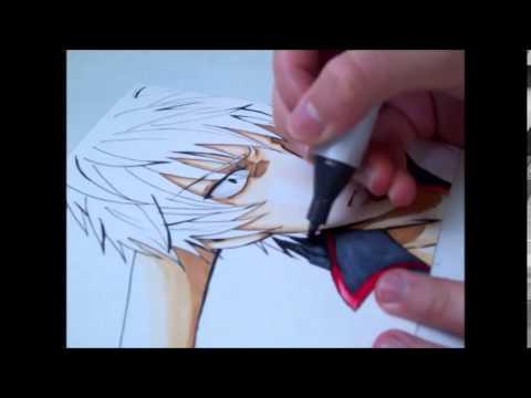 Gintoki Sakata Speed Painting